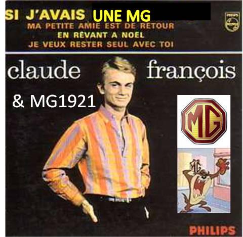 Si j'avais une MG Claude François