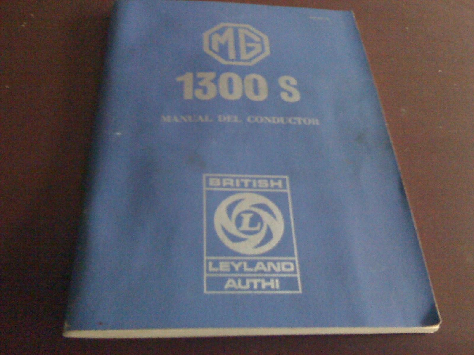 Forum MG - - MG 1300 S